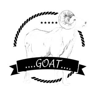 feaca3fe1 Main Tag Goats T-Shirt