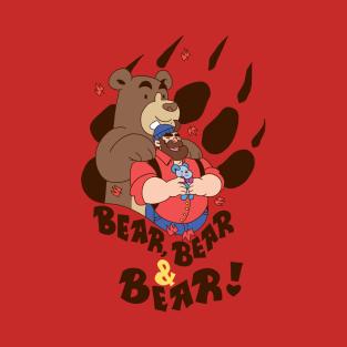 Bear, Bear & Bear t-shirts