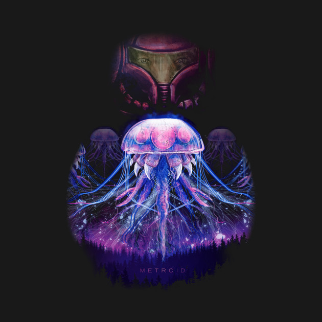 The Epic Metroid And Samus T-Shirt