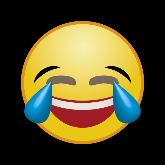 laughing tears smiley