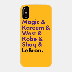 f737c1cc34d84 La Lakers Phone Cases - iPhone and Android | TeePublic