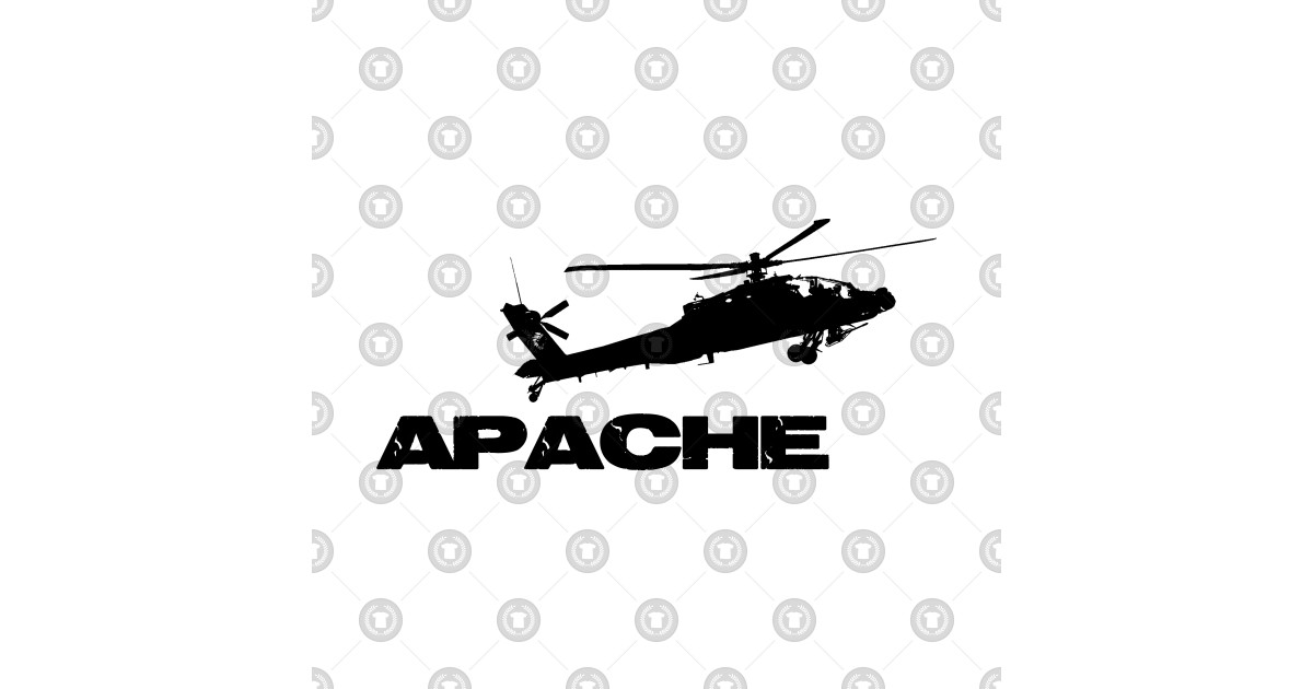 apache 160 coloring pages | apache helicopter - Apache Helicopter - T-Shirt | TeePublic