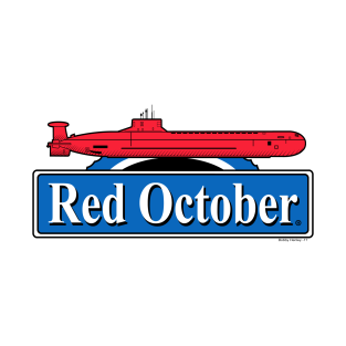 Red October t-shirts