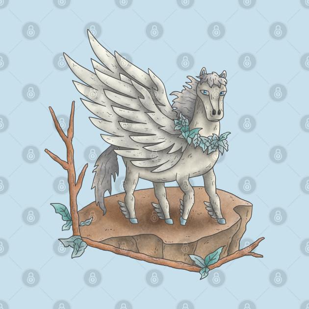 Flying horse (Pegasus)