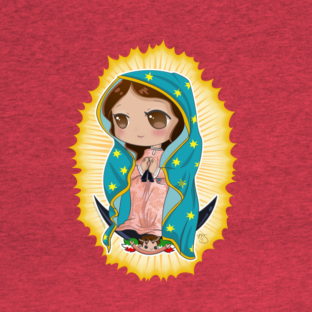Our Lady Of Guadalupe - Chibi