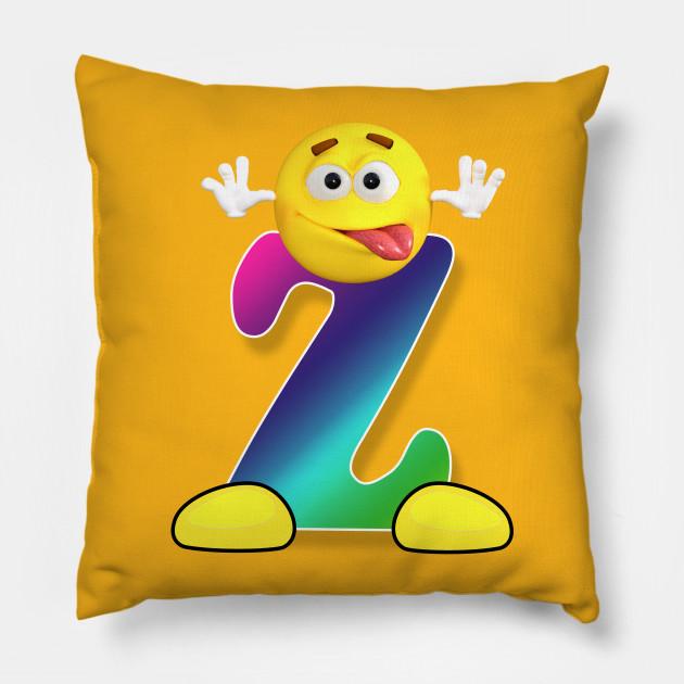 Letter Z Alphabet Smiley Monogram Face Emoji Shirt for Men Women Kids