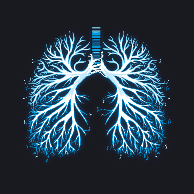 I Breathe Music | Artistic Lungs