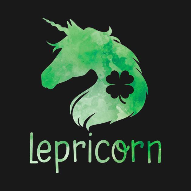 Lepricorn Unicorn Leprechaun St. Patrick's Day T-Shirt