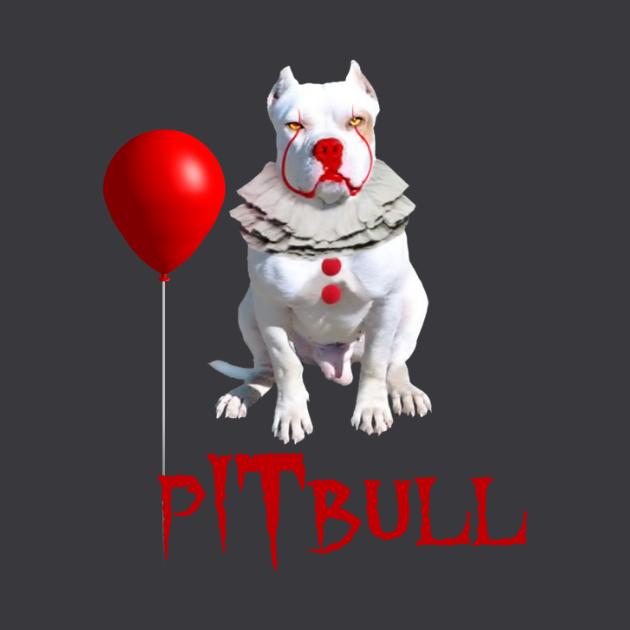 Pitbull Halloween T-shirts