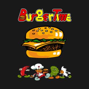 Burgertime t-shirts
