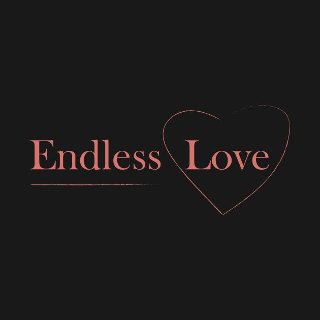 Endless Love slogan design