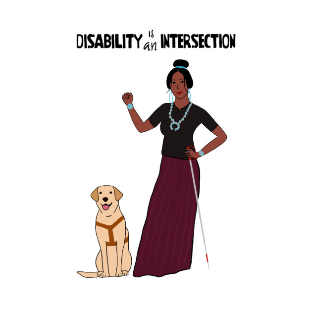 Disability Is An Intersection White Cane
