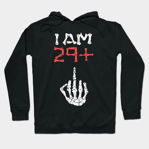 I Am 29 Middle Finger