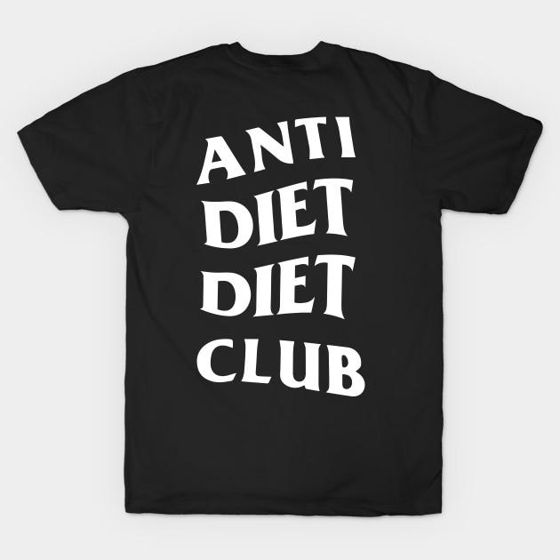 anti diet diet club font