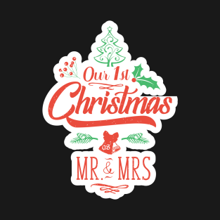 Our First Christmas As Mr And Mrs Cute Christmas Gift For The ...