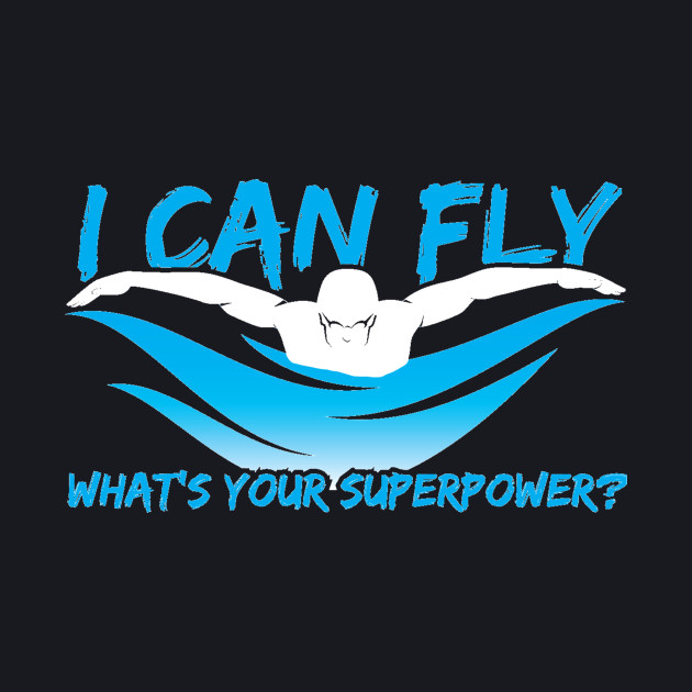 I Can Fly Swimming
