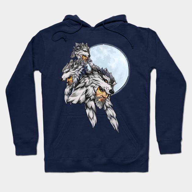 08af86cf Three Wolf Moon - Hanzo - Overwatch - Hoodie   TeePublic