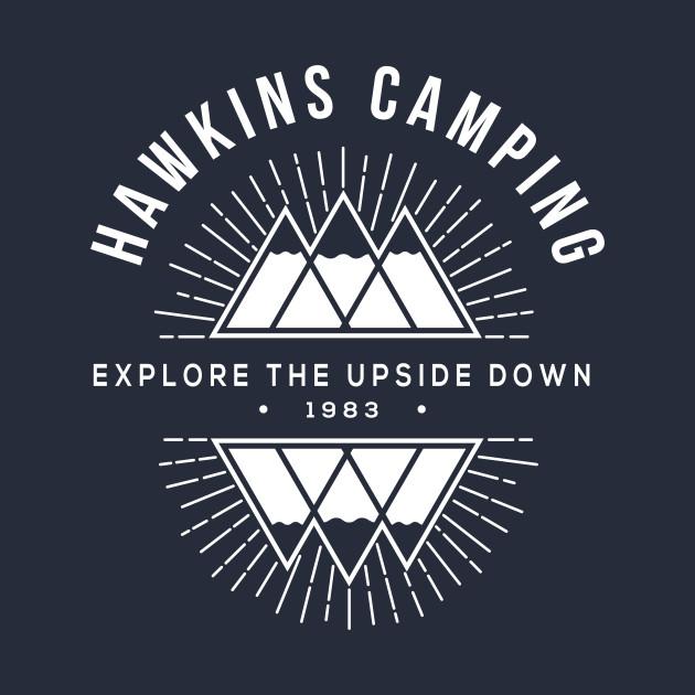 Hawkins Camping Explore Stranger Things