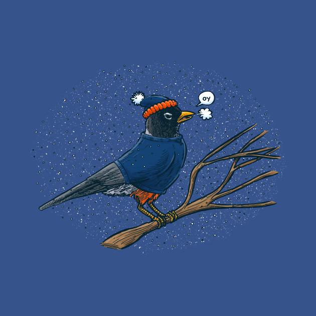 Annoyed IL Birds: The Robin