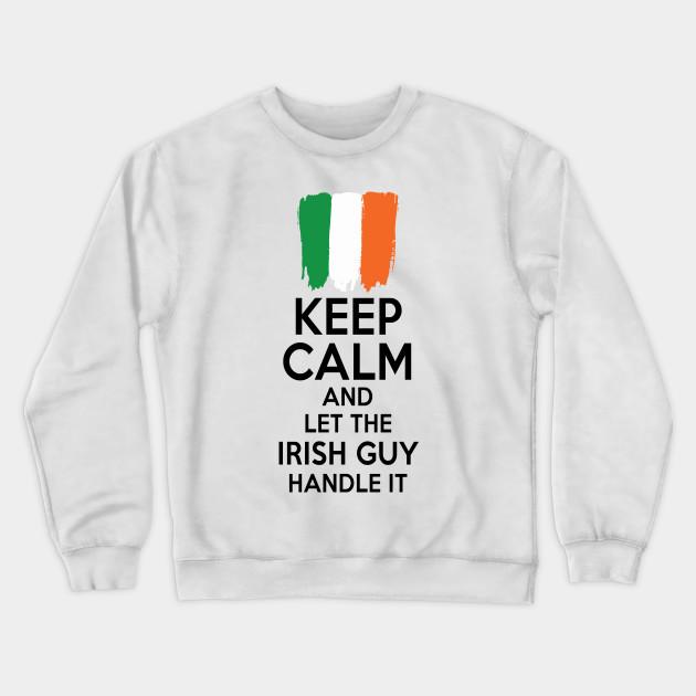 Keep Calm And Ride A Unicorn Mens Fleece Crew Sweatshirt