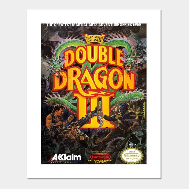 Double Dragon Iii Double Dragon Posters And Art Prints Teepublic