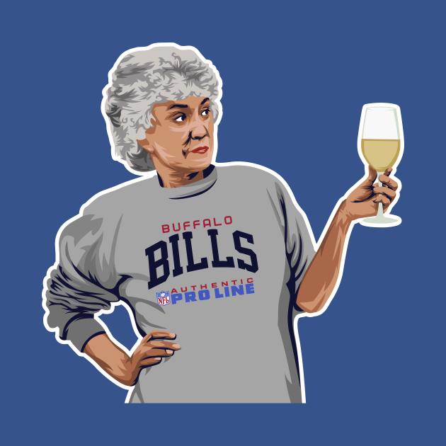 Bea Arthur Golden Girls Buffalo Bills