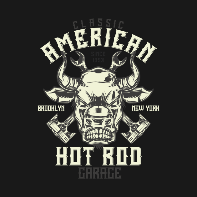 Bull American Hot Rod Garage Brooklyn New York