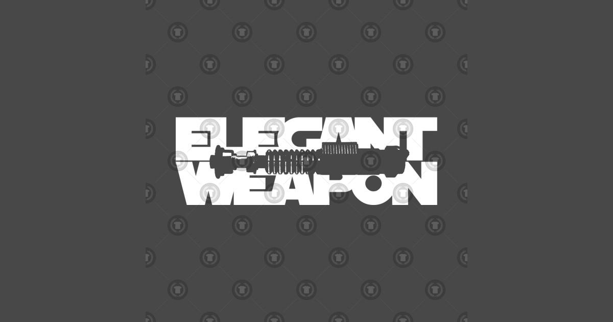 Elegant Weapon by marcgodsifftshirts