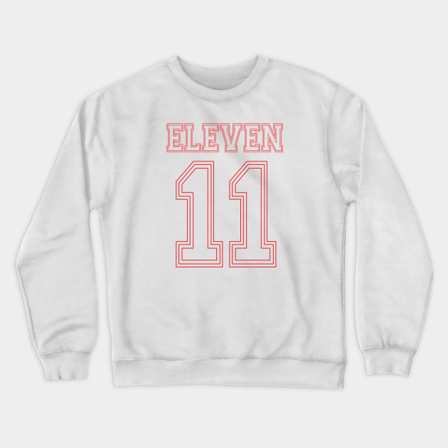 Stranger Things Eleven Team Number