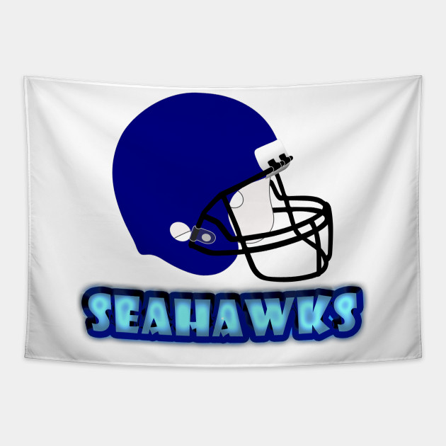 Seahawks Football Skyline T-Shirt