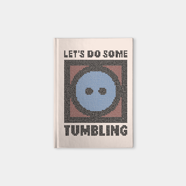 Let's Do Some Tumbling - faux embroidery