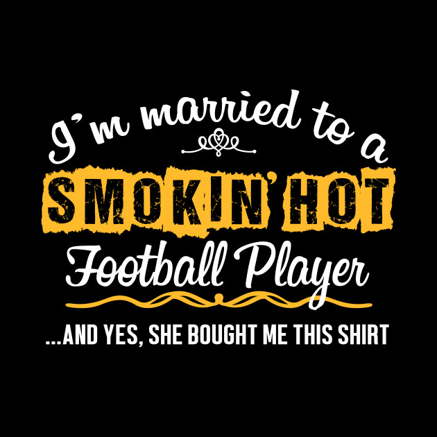For Football Player's Husband Funny Gift