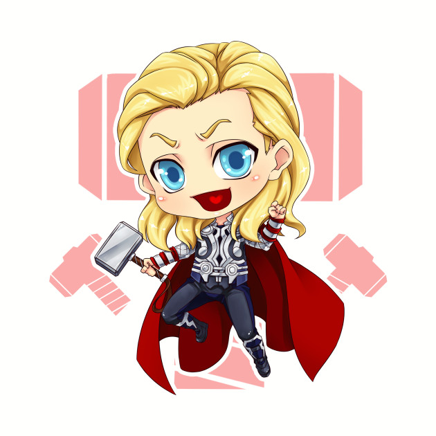 Marvel Thor Chibi Dwee9ibh2y Toteteepublic Fanart Superhero BodshxrCtQ
