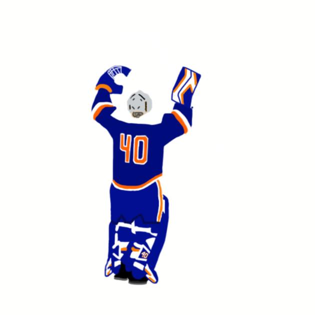 pretty nice 6a170 115ba Robin Lehner - New York Islanders