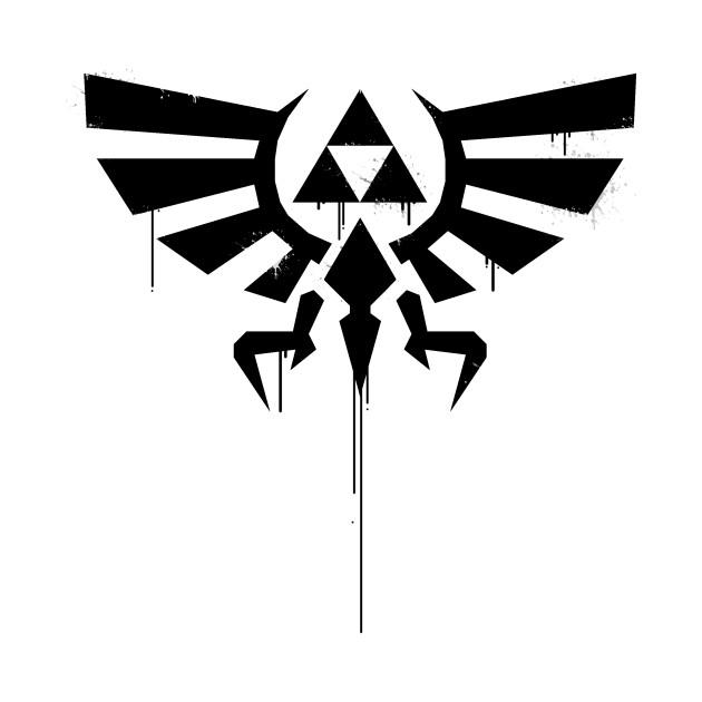 Legend Of Zelda Tri-Force Splatter