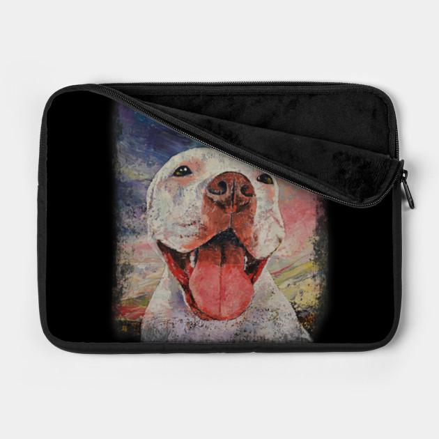 Pit Bull Dog Mom Art Colorful