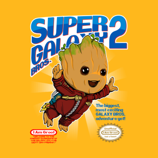 Super Galaxy Bros. t-shirts