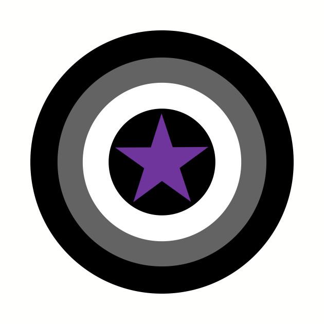Asexual Pride - Captain America