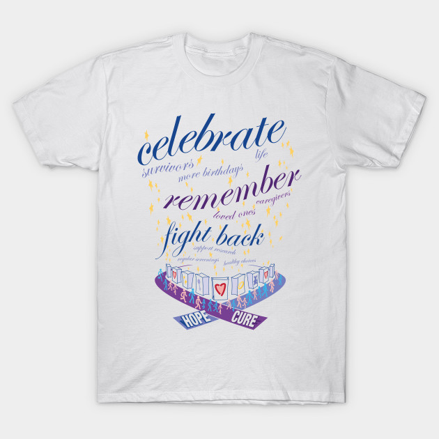 Fight cancer relay for life luminaria relay for life for Relay for life t shirt designs
