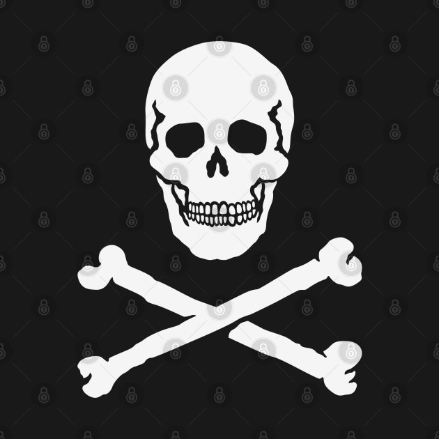 Skull With Crossbones (Pirate Flag / Jolly Roger) - Pirate ...