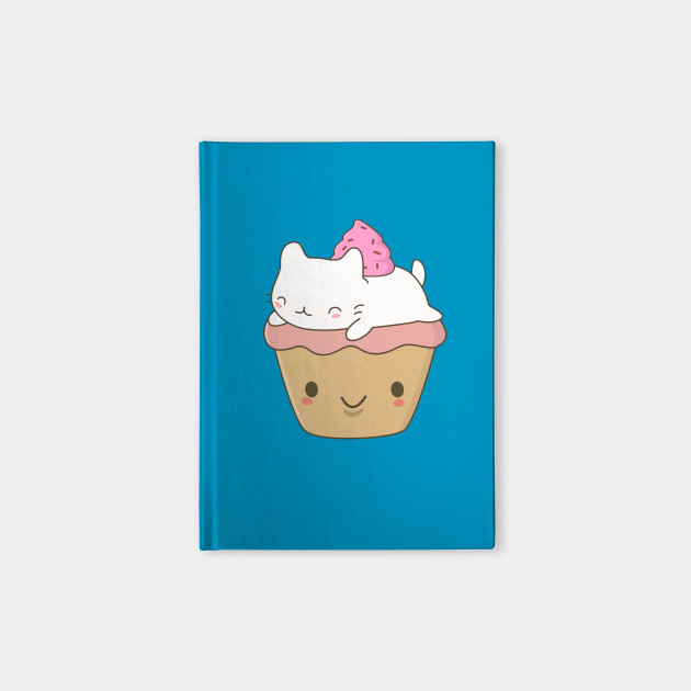 Cute and Kawaii Cupcake Cat T-Shirt