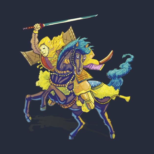 Riding Samurai