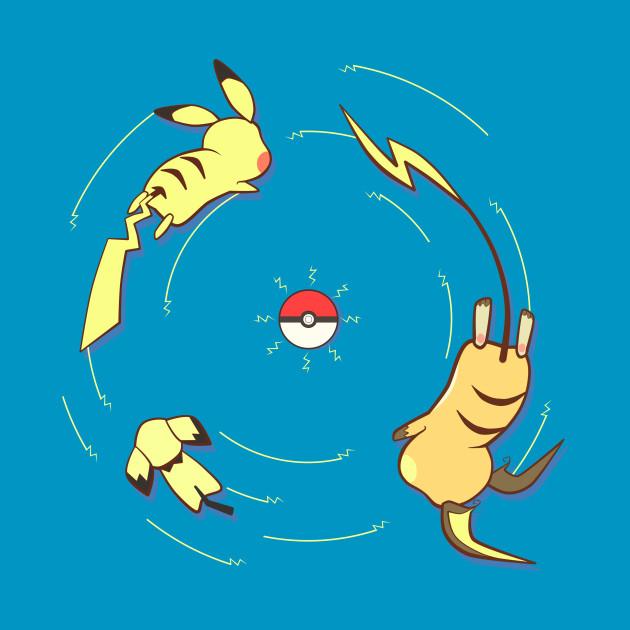 Evolução Pokemon- Pikachu