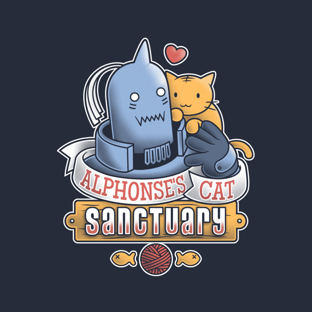 Alphonse's Cat Sanctuary T-Shirt
