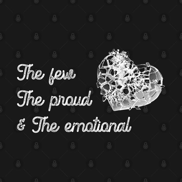 Twenty One Pilots - TOP - Few Proud Emotional - White