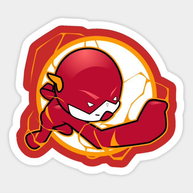 Lil Flash Sticker