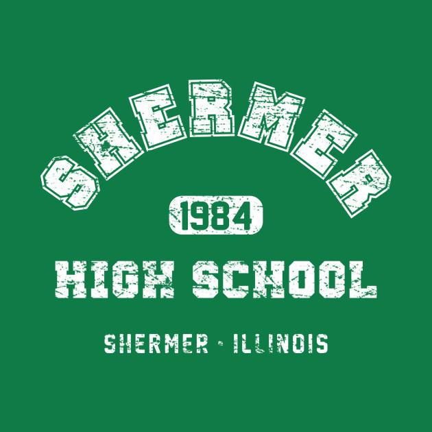 Shermer High School 1984 (aged look)