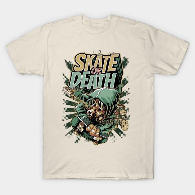 Skate Or Death Graffiti Skateboard Urban Skater Gift