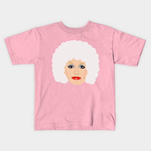 4128439b6f3 Dolly Parton Portrait - Dolly Parton - Kids T-Shirt