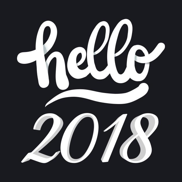 Hello 2018 Shirt, New Years Shirt, New Years Eve Shirt, Women's New Years Eve Party Shirt, Off Shoulder, Lightweight Sweater, 2018 T-Shirt